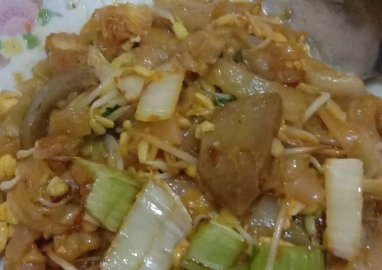 Resep Kwetiaw goreng simpel yang Sempurna