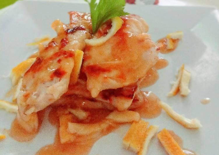 Resep Grilled garlic n lemon chicken buat sarapan suami tersayang Terenak