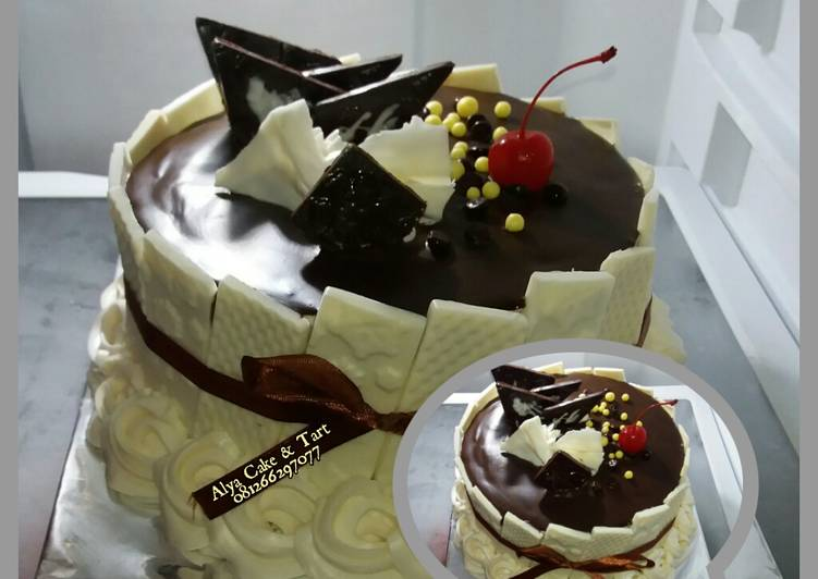 Ganache / coklat siram