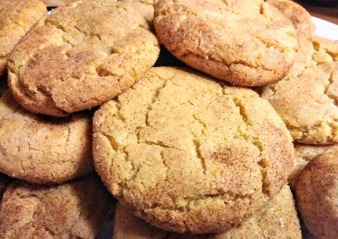 Recipe: Delicious No butter Snickerdoodles