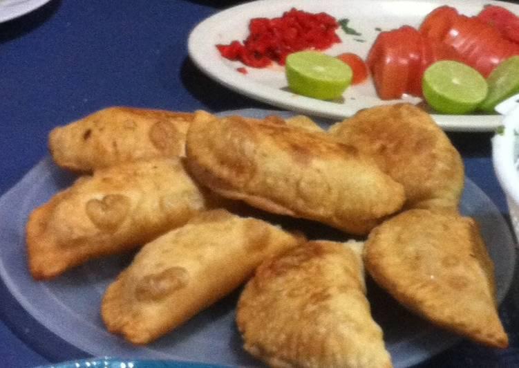 Masa para empanadas argentinas ( aceite o horno )