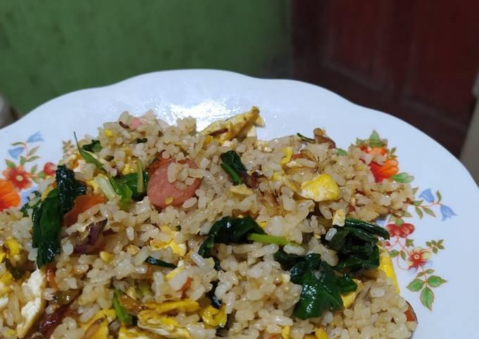 Nasi goreng Jawa/terasi
