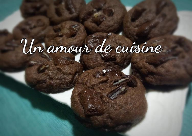 Comment Cuisiner Cookies chocolat