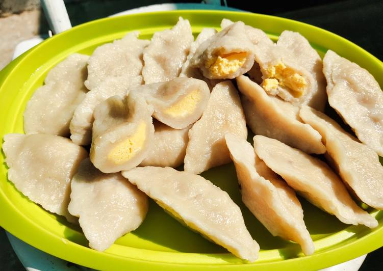 Pempek Telor Ikan Tenggiri Asli Palembang (Homemade)