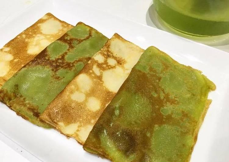 Matcha Green Tea Crêpes