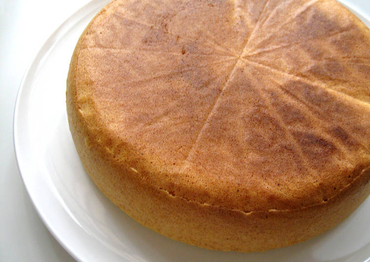Rice Cooker Sponge Cake
