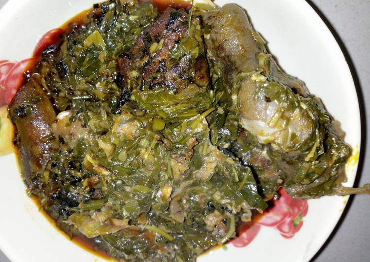 Edikaikong Soup, Finding Nutritious Fast Food