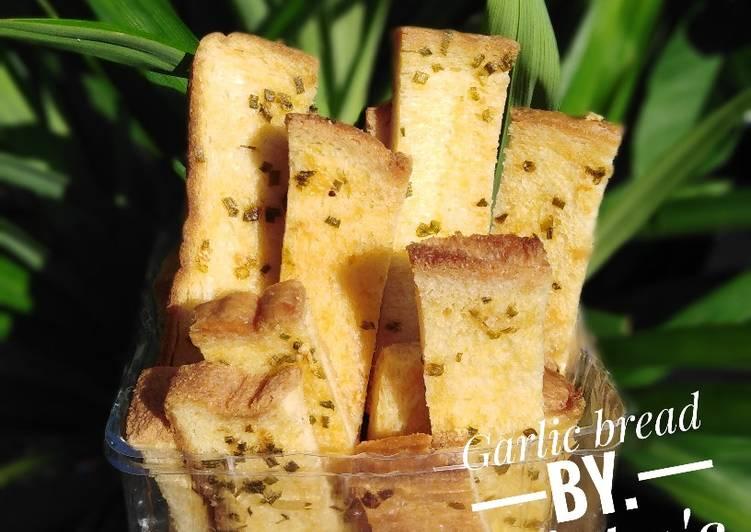 Resep Garlic bread ala vitta's kitchen Bikin Ngiler