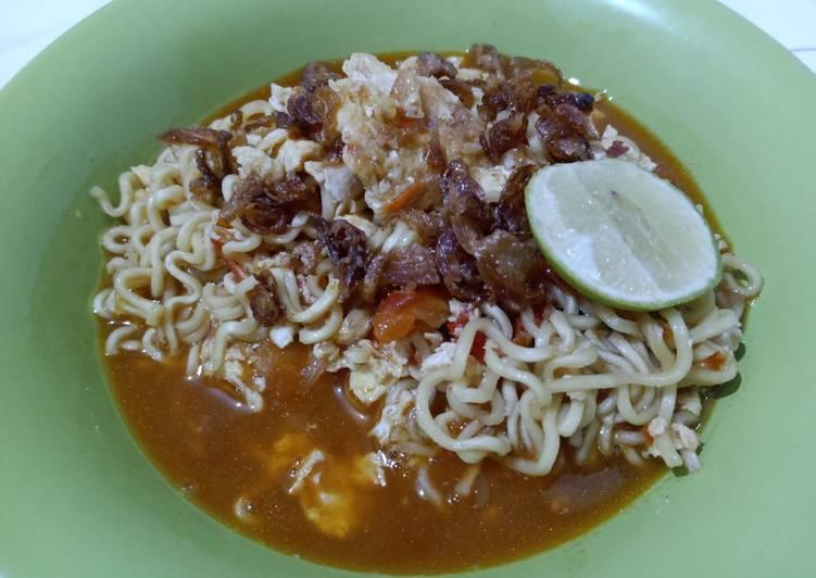 Resep Indomie goreng tek-tek (mie tek-tek) Paling Top