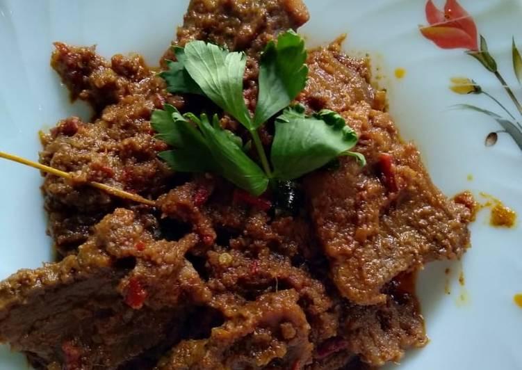 Rendang Daging Sapi Mantapp