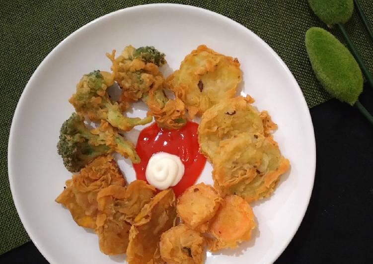 Resep Vegetable Tempura Oleh Indah Mei Izy Cookpad