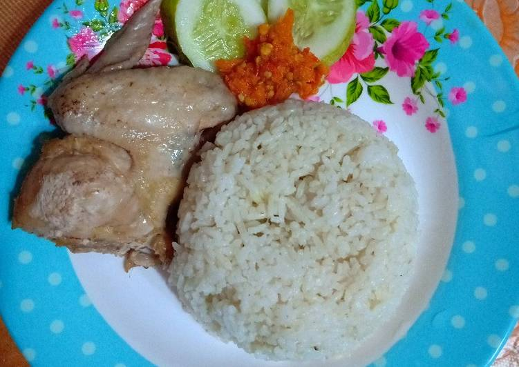 Nasi hainam (Rice cooker)