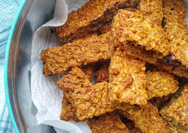 Recipe: Perfect Baked Oat Fruit Bars