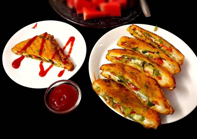 Vegetable Sandwich Bread Pakoda