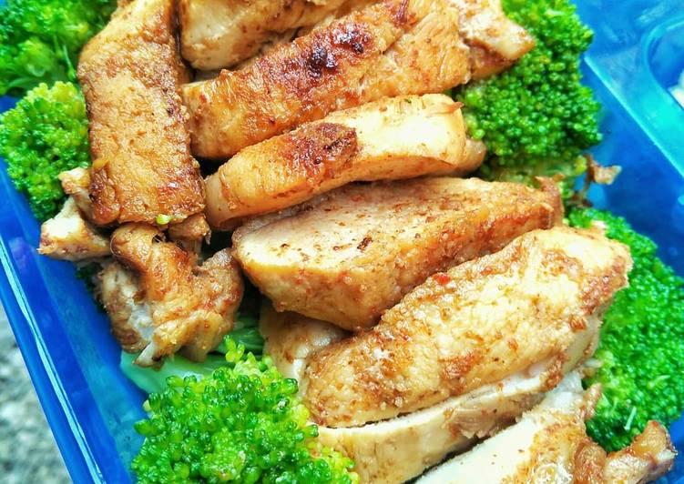 Resep Ayam Panggang Brokoli Menu Diet Enak Dan Sehat Super Gampang Oleh Kristina Puspita Dewi Cookpad