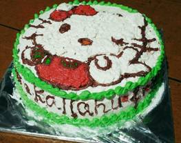 Black forest birth day cake + tips menghias unt pemula