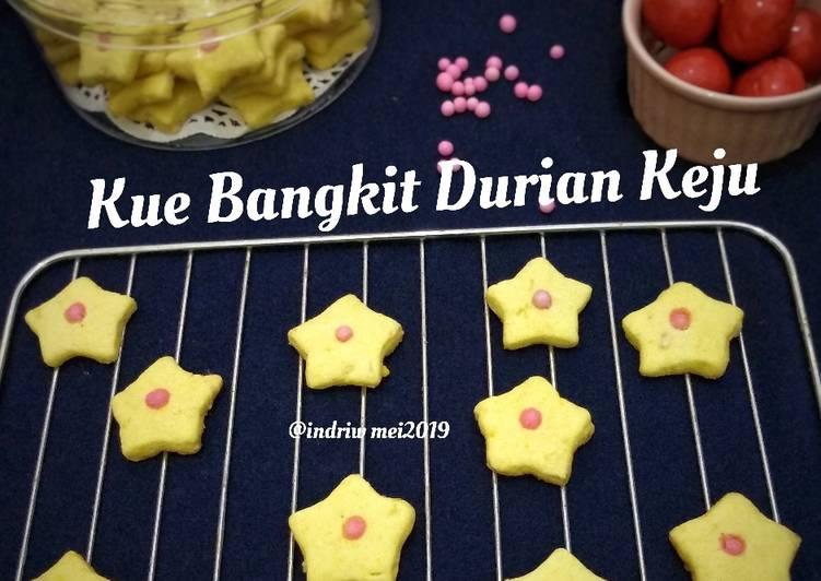 Kue Bangkit Durian Keju