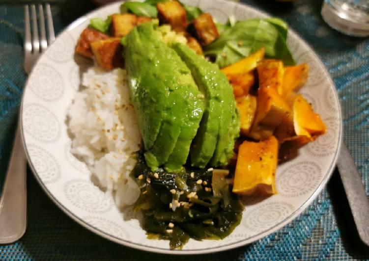Pokebowl végétarien 🍜