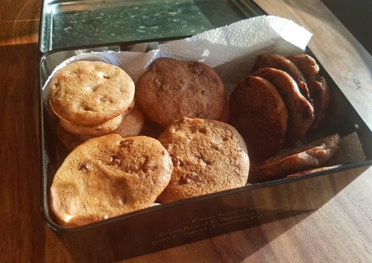 Cookies granola à la pâte à tartiner