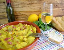 Alcachofas al Montilla (Crock Pot)