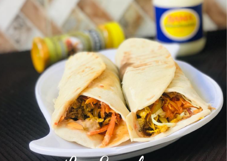 Recipe of Perfect Chicken shawarma