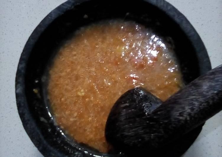 Sambal untuk bakso,mie ayam,cilok atau siomay