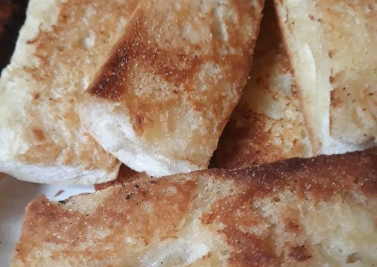 Butter Fried Cuban Bread