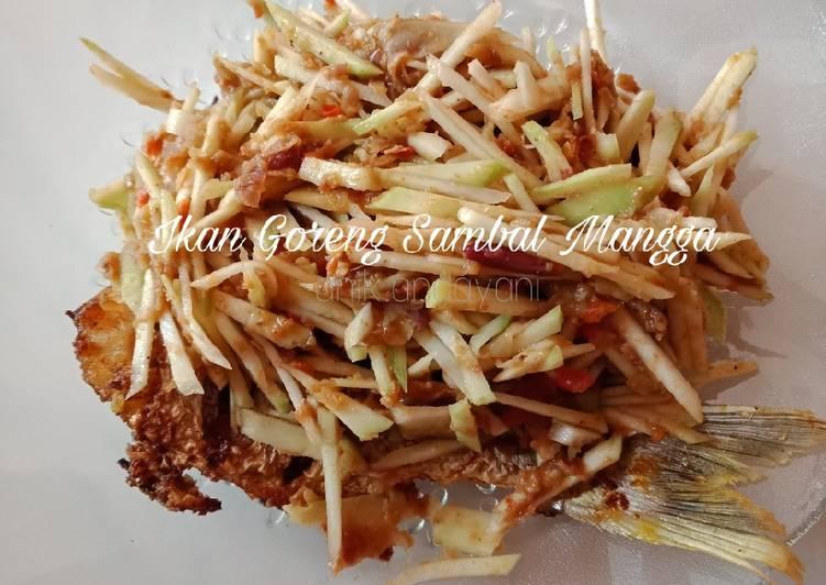 Ikan Goreng Sambal Mangga