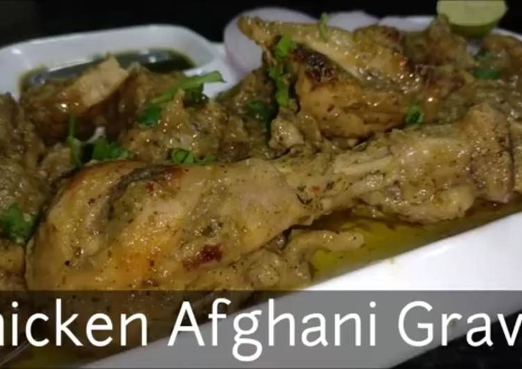 Chicken Afghani Gravy