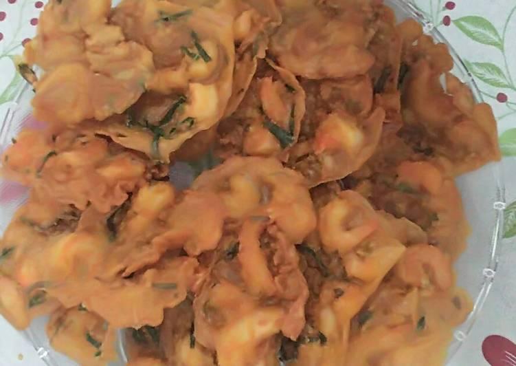 Udang goreng pedas renyah