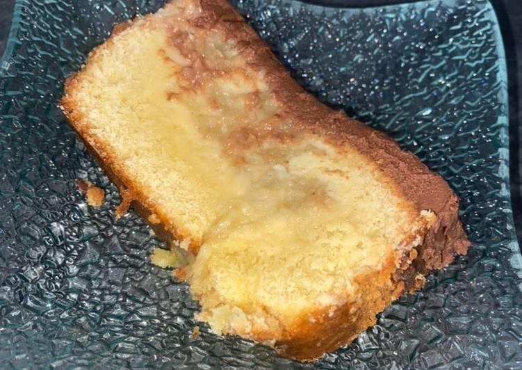 Cake aux poires 🍐 nappage chocolat noir 🍫