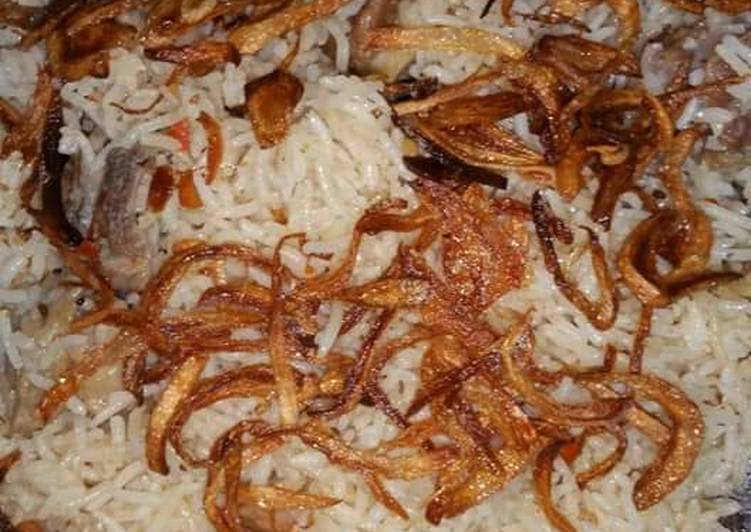Picking The Right Foods Will Help You Stay Fit And Also Healthy Yakhni pulao