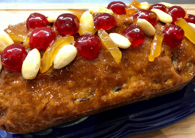 Recette Appétissante Cake aux Fruits confits