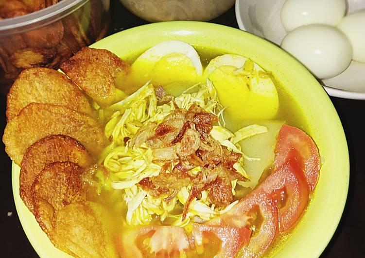 Soto Ayam Asli Indonesia