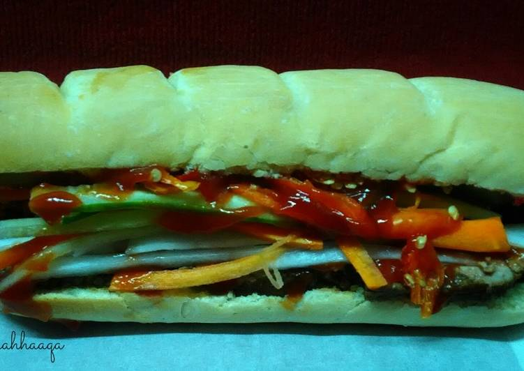 Banh Mi with Homemade Baquette