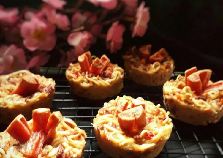 Muffin Mie Panggang