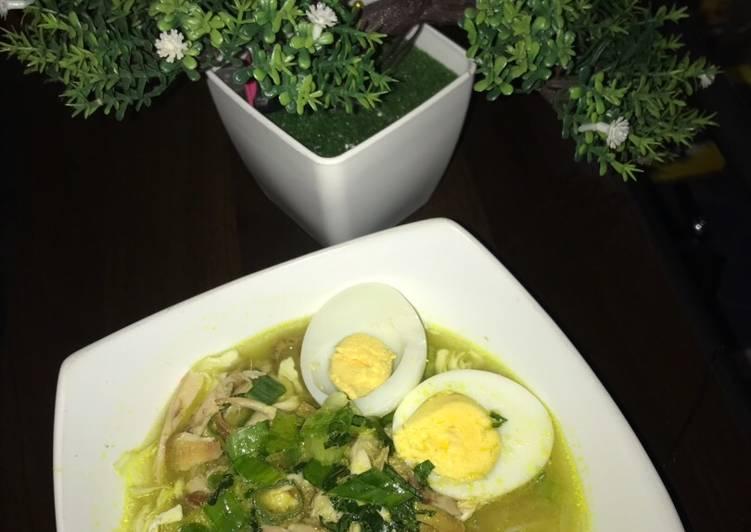 Resep Soto Ayam Bening, Enak