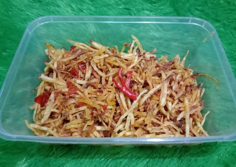Resep Kentang mustofa sederhana dan enak