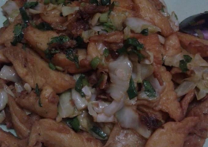 Resep Capcay tepung / capcay Jawa, Sempurna