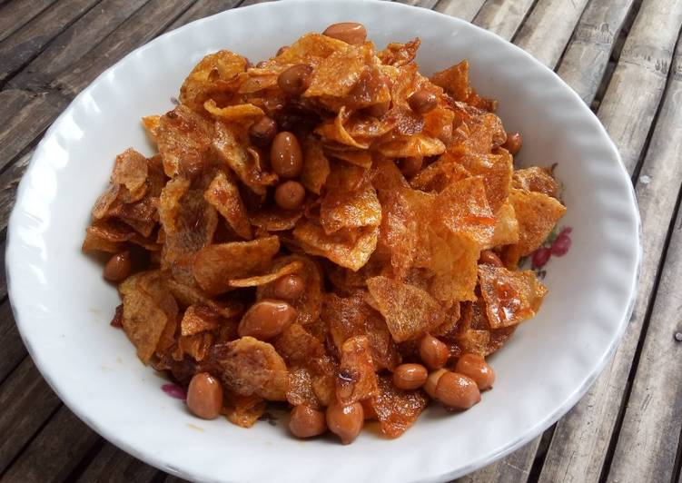 Resep Sambel Goreng Kering Kentang Kacang Oleh Nancy Johan Cookpad