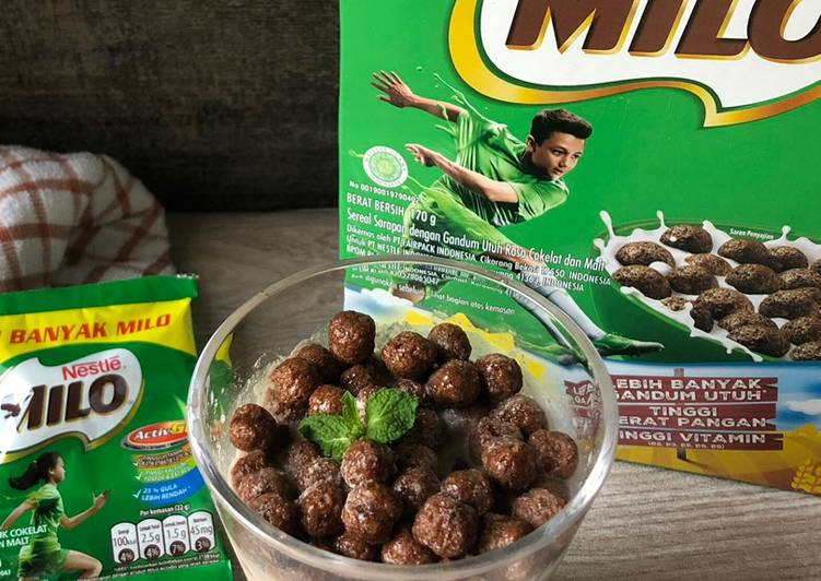 MILO for breakfast