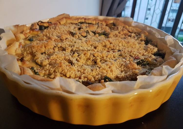 Tarte crumble provençale