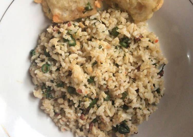Nasi megono khas dieng