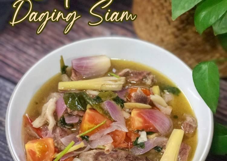 Sup Daging Siam