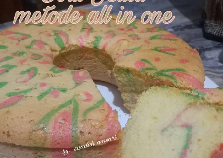 resep membuat Bolu Jelita Metode All in One - Sajian Dapur Bunda