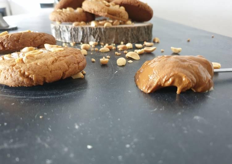 La Délicieuse Recette du Cookies vegan au beurre de cacahuète