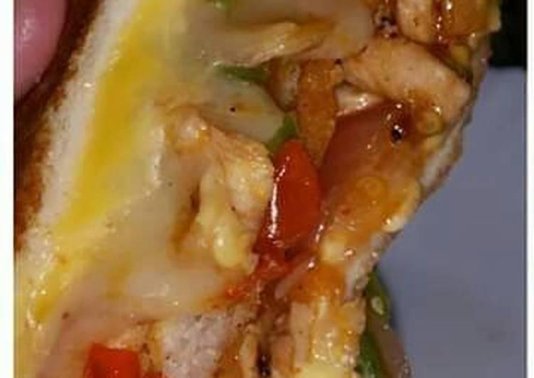 Recipe of Homemade Fajita Sandwiches