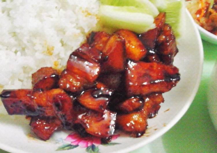 Cách Làm Món Thịt xào chua ngọt đơn giản của Anhie Tran - Cookpad