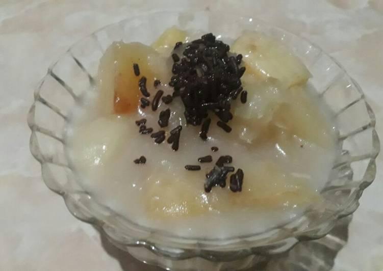 Singkong Kuah Santan (Singkong Thai Ala2) - cookandrecipe.com