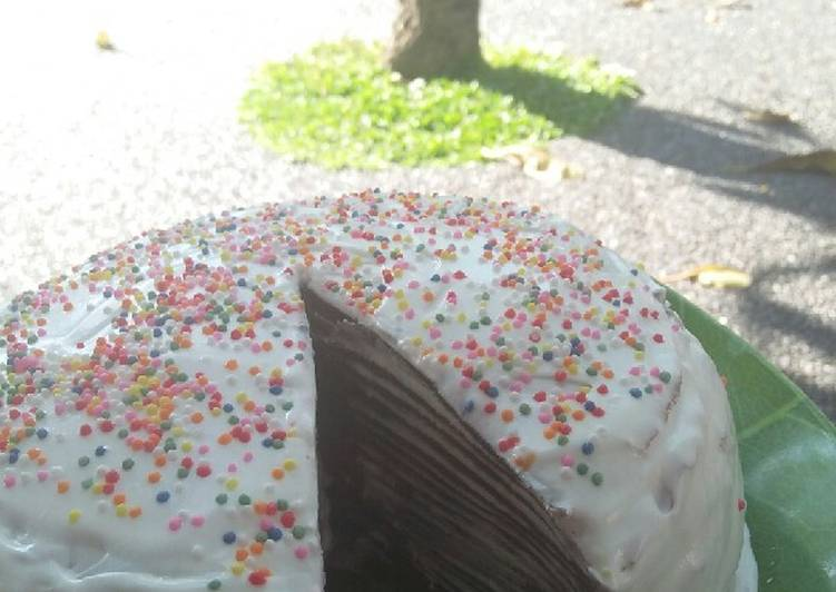 Choco Mile Crepes Cake
